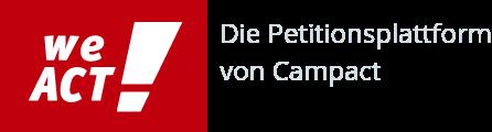 WeAct -                                                           Die                                                           Petitionsplattform                                                           von Campact